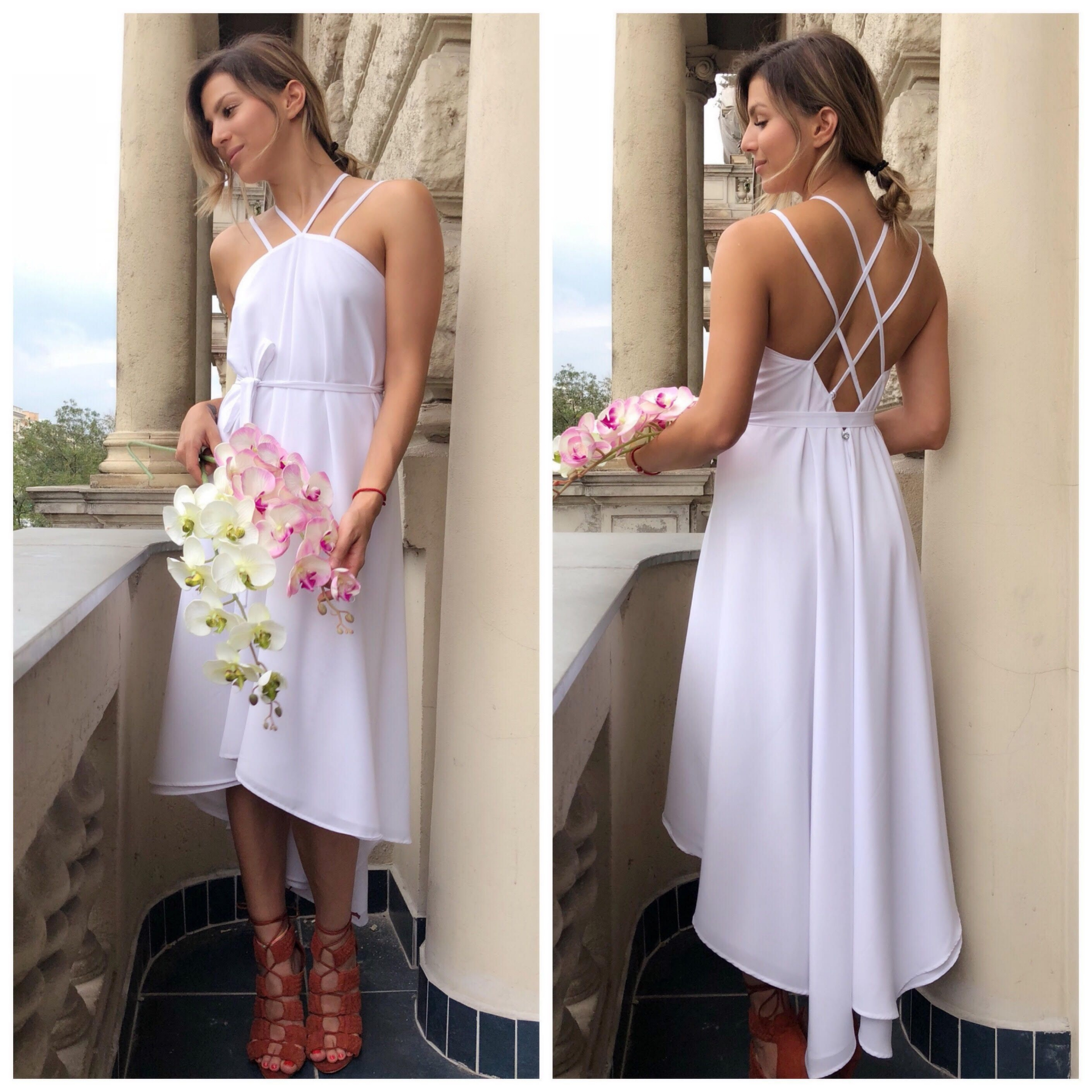 Lara Wedding Dress / fehér