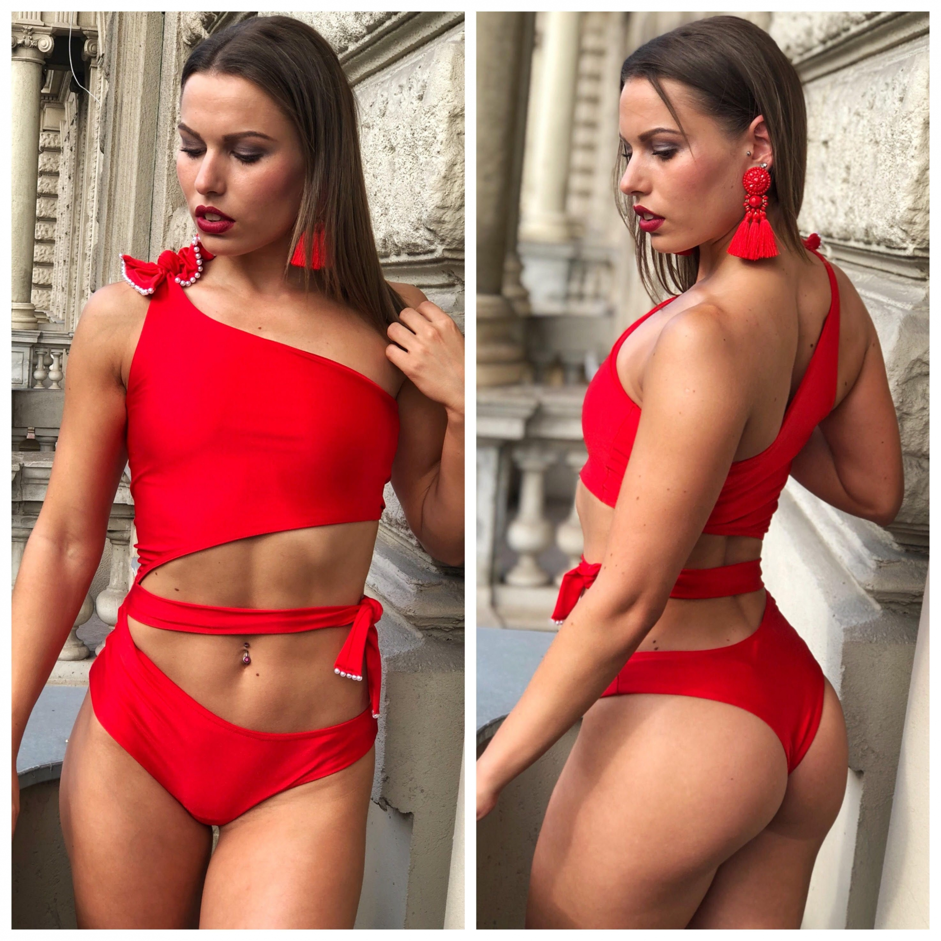 Sea Collection / Swimwear Red