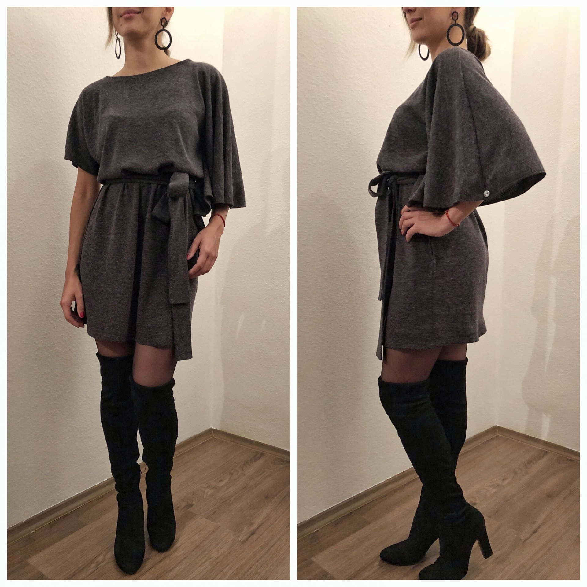 Dorina Dress / szürke