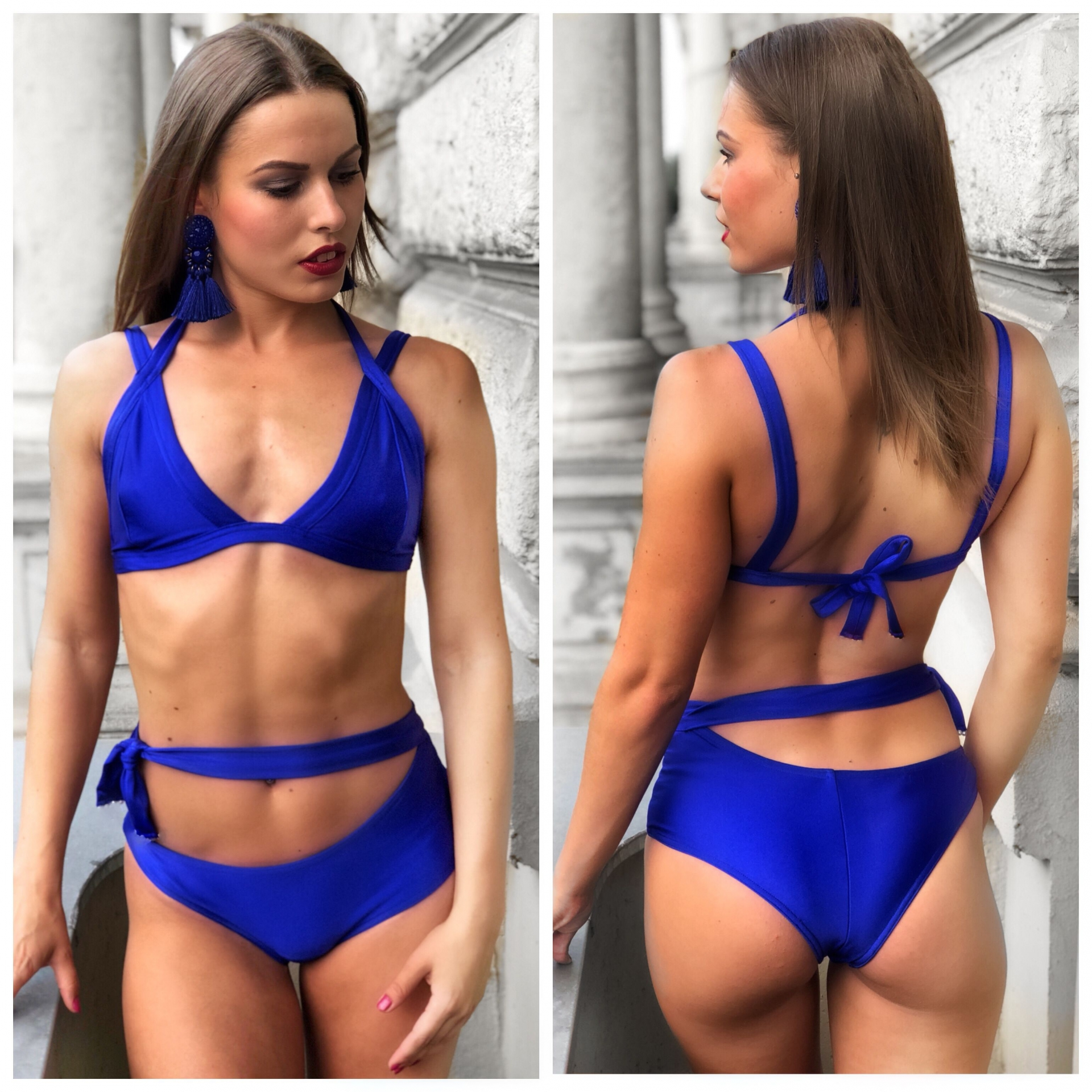 Blue Swimsuit