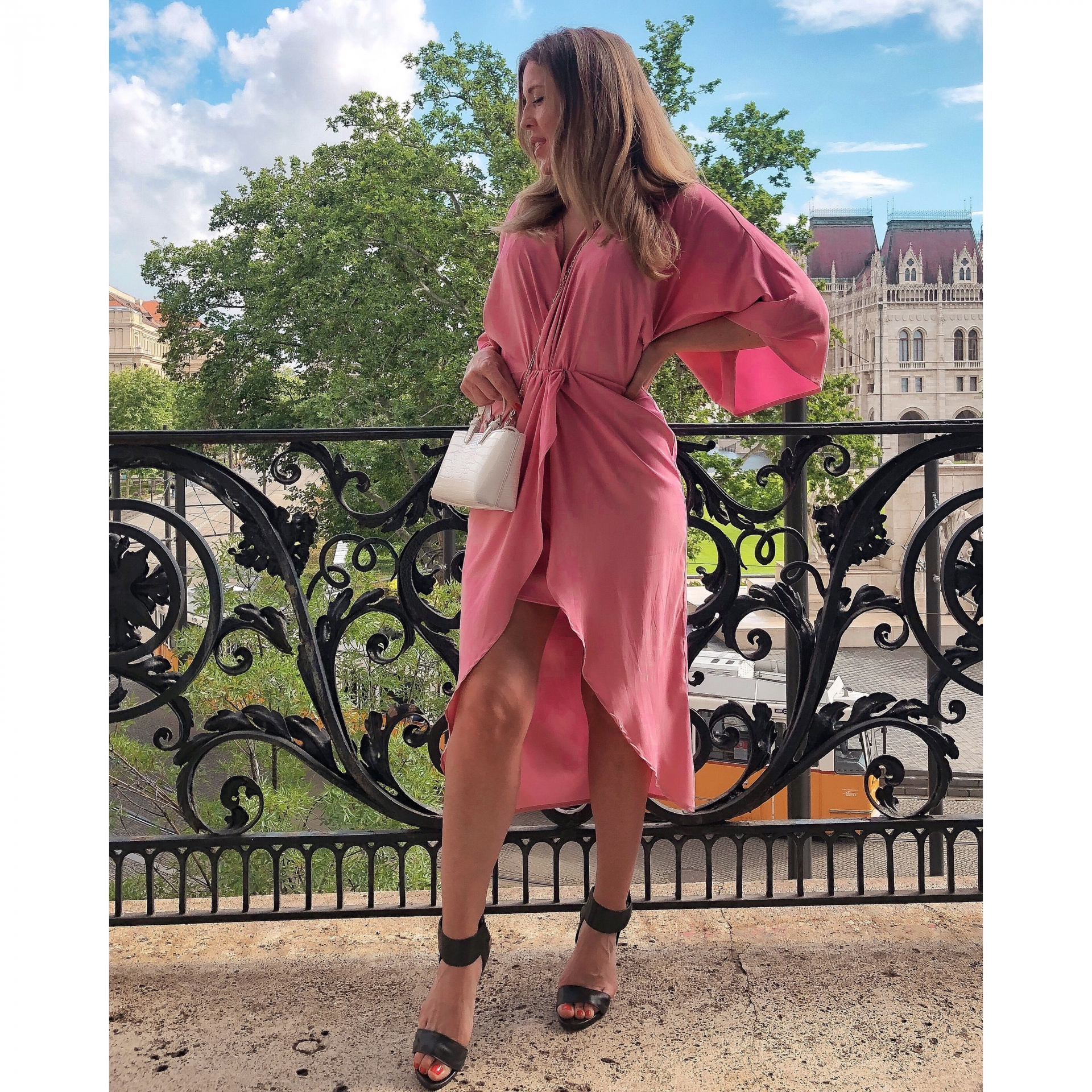 Gréta Dress/ old pink