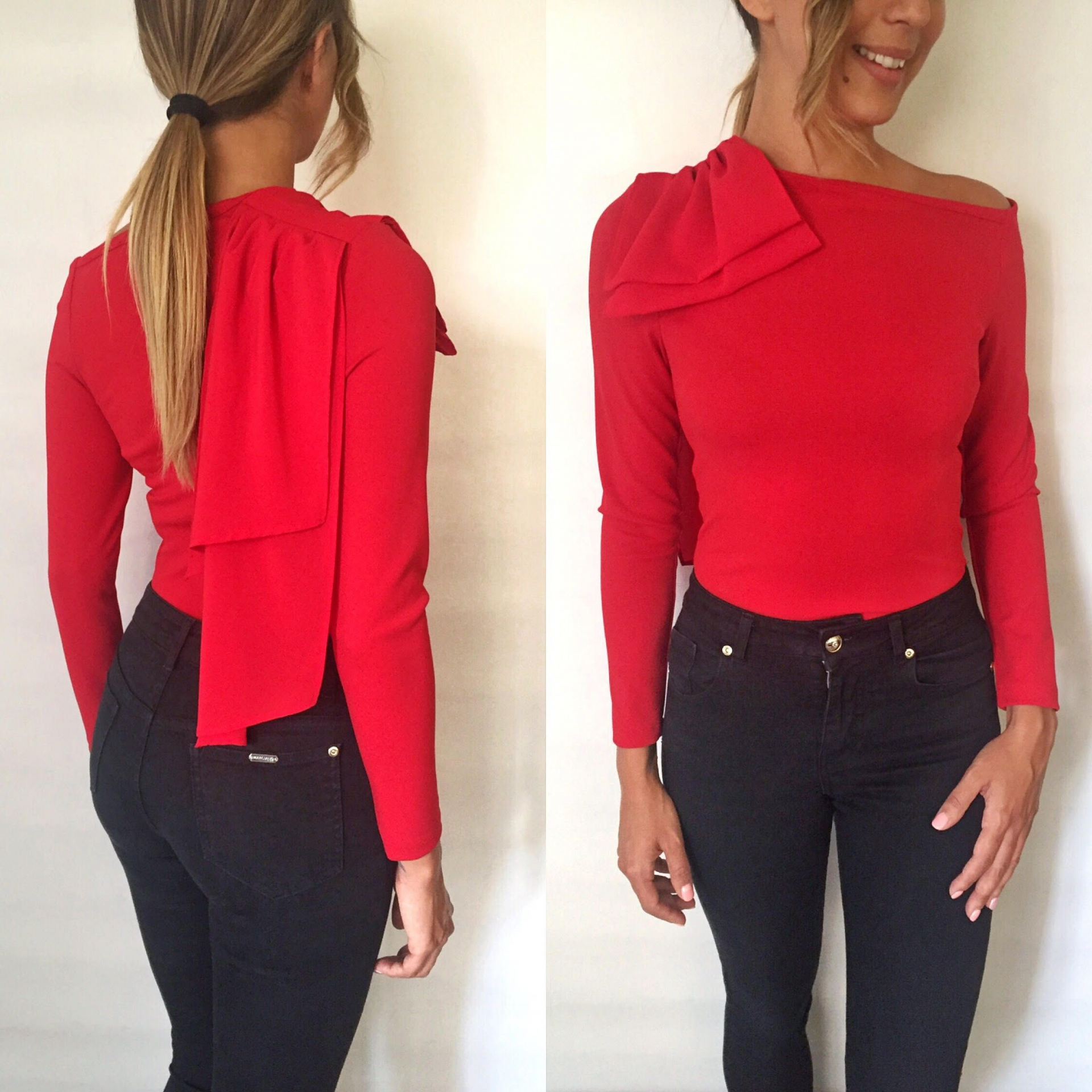 Red / Bow Kloe Body